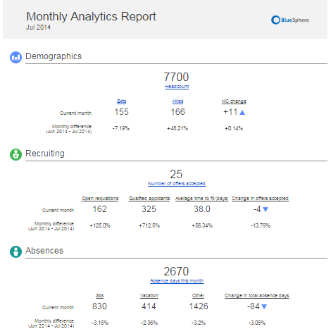 Analytic report