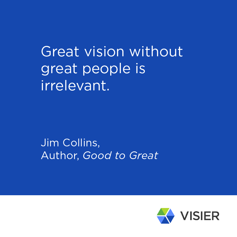 Jim Collins quote about vision