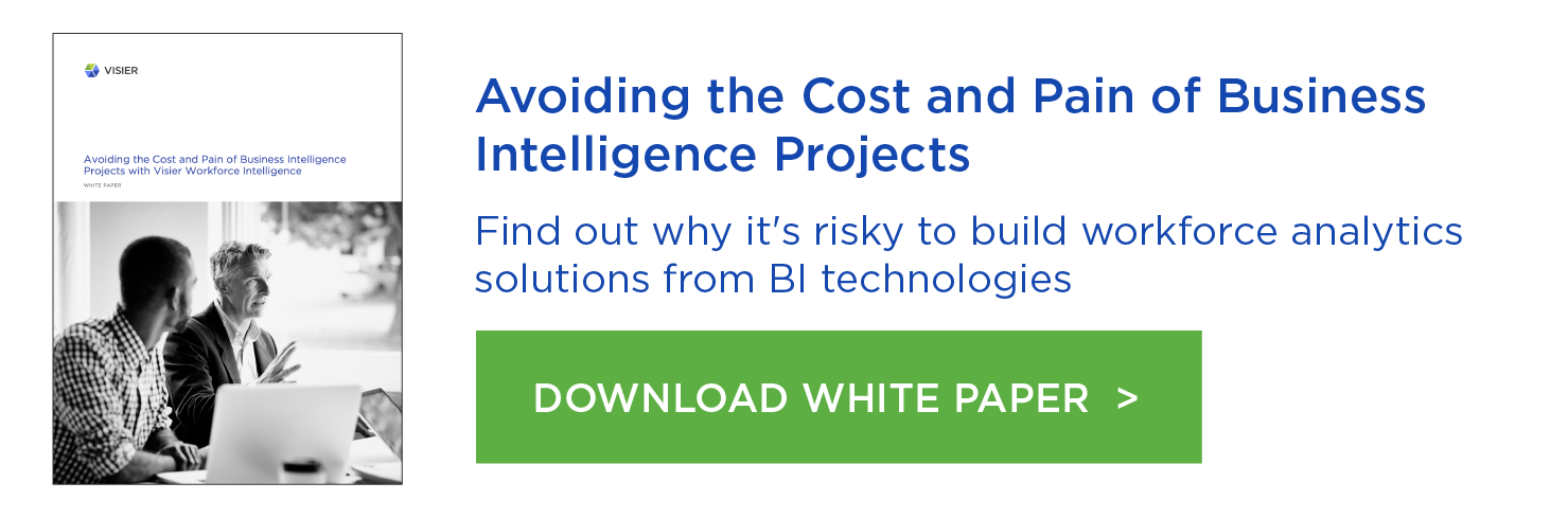 Avoiding the Cost and Pain of Business Intelligence Projects