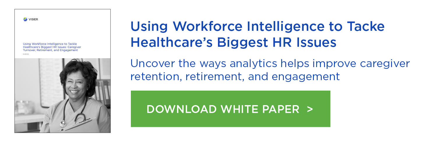 Using Workforce Intelligence to Tackle Healthcare's Biggest HR Issues