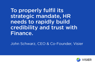 Quote by John Schwarz on how HR can become more strategic
