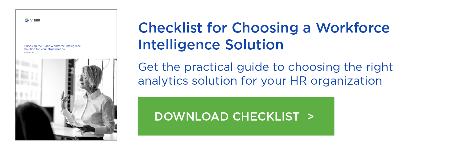 Checklist for Choosing a Workforce Intelligence Solution