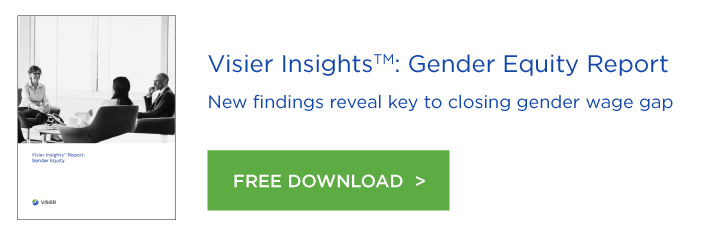 Visier Insights Gender Equity Report