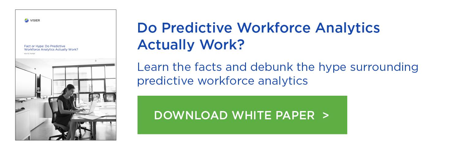 Do Predictive Workforce Analytics Actually Work