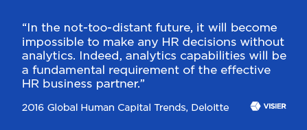 Quote from the Deloitte 2016 Global Human Capital  Trends Report