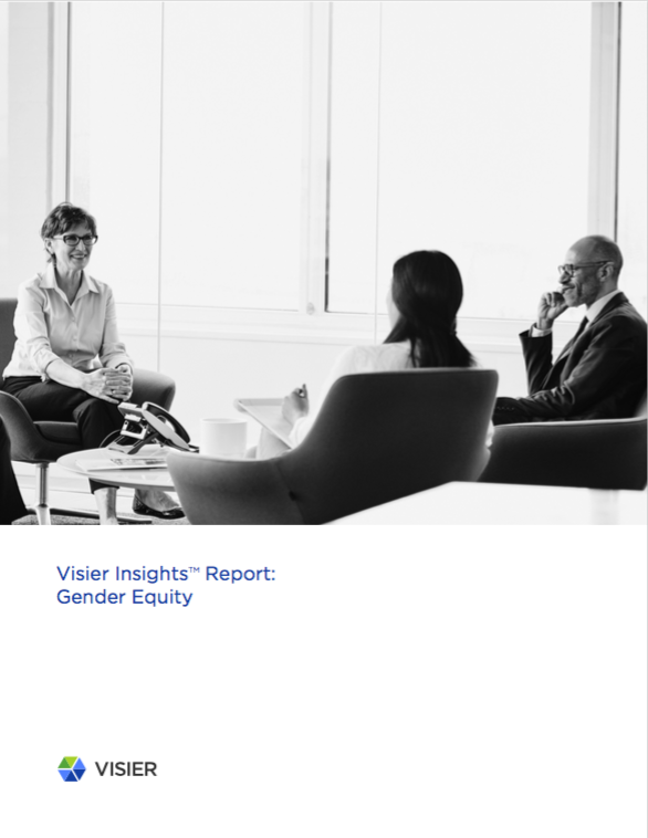 Visier Insights Gender Report cover