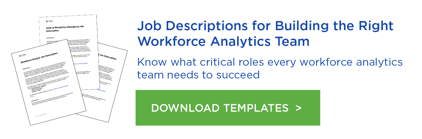 Job Descriptions for Building the Right Workforce Analytics team