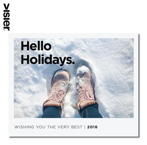 Visier Holiday Greetings