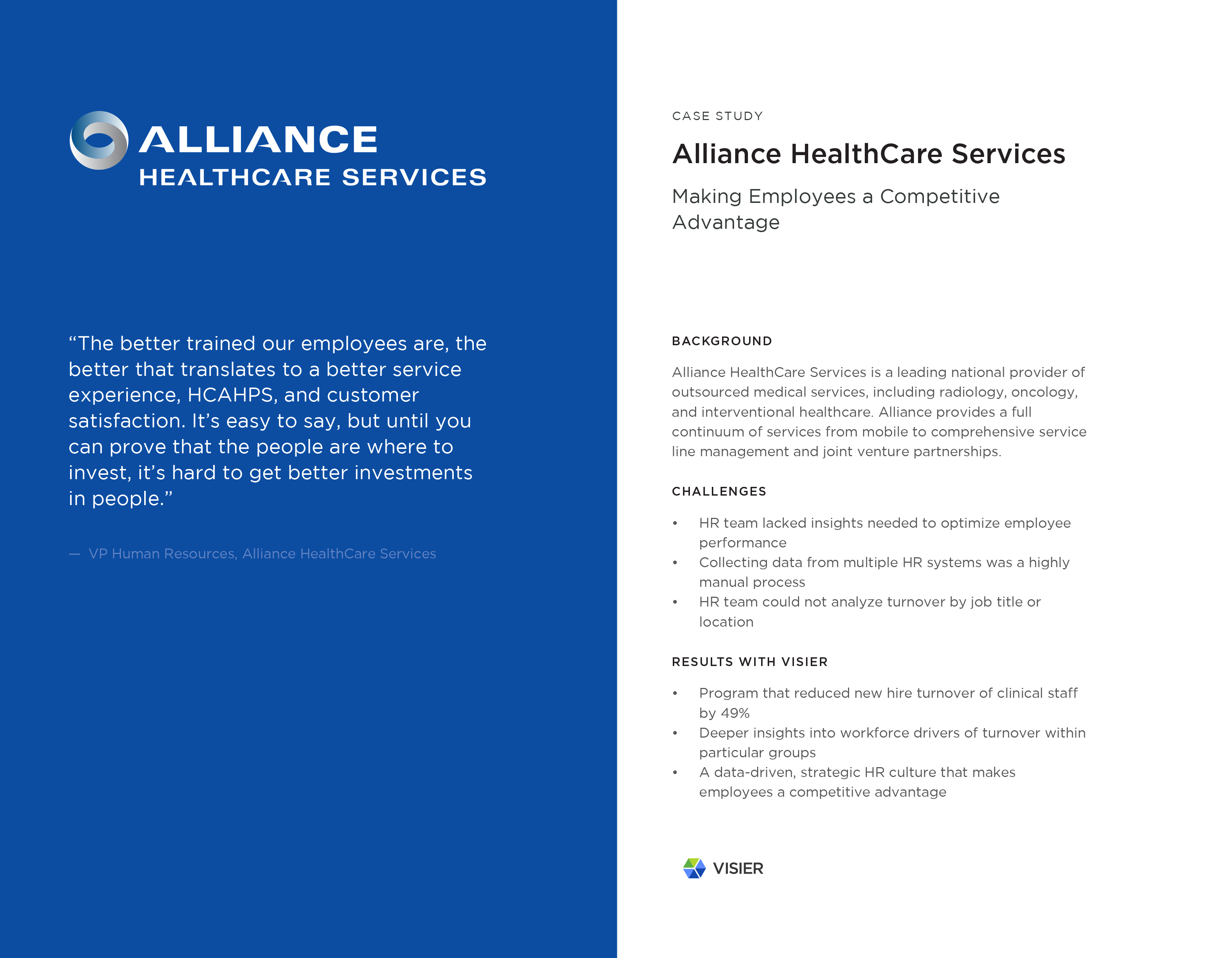 Infographic - Alliance HealthCare