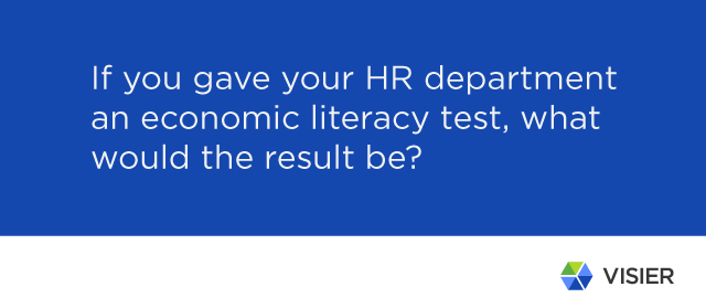 Dave Ulrich economic literacy quote for better HR strategy