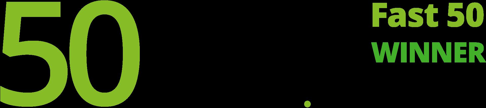Deloitte Fast 50 winner logo