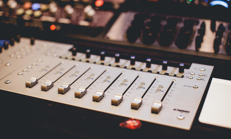 Image of a music soundboard