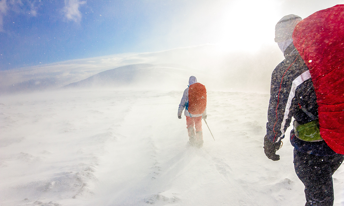 Adventurers in a snow-filled setting with snow blurring the image is a metaphor for the ambiguity associated with Brexit. This post preps HR leaders for the post-Brexit people challenges.