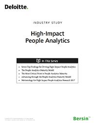 High-Impact People Analytics Bersin Impact Cover