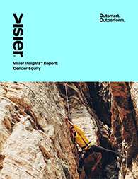 Visier Insights- Gender Equity Report Cover