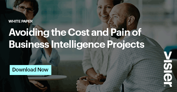Avoiding the Cost and Pain of Business Intelligence Projects with Visier People CTA