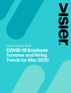 COVID-19 Employee Turnover and Hiring Trends - May 2020