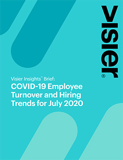 COVID-19 Employee Turnover and Hiring Trends - July 2020