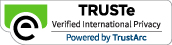 TRUSTe Verified International Privacy seal