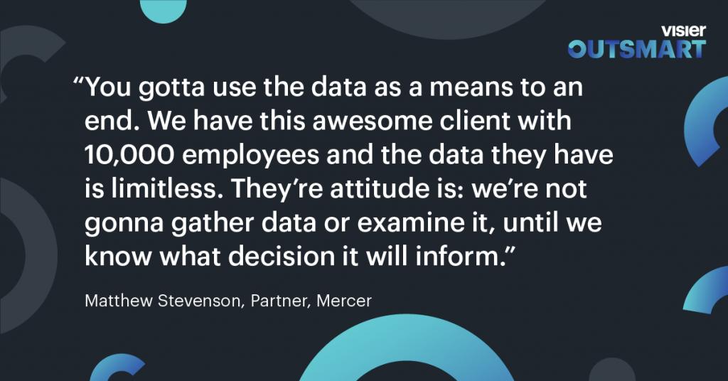 Data informing decisions