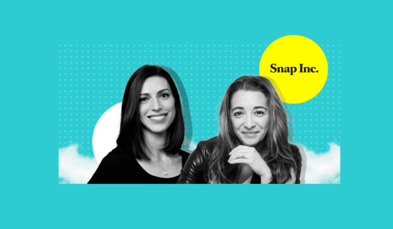 Kami Tilmann and Shahar Gur data analysts at Snap Inc talking about the company's diversity pledge
